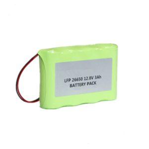 12.8v 26650 lifepo4 battery 3Ah