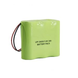 rechargeable 26650 9.6V lifepo4 battery 3Ah