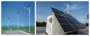 Rechargeable batteries in solar street light and energy storage systems