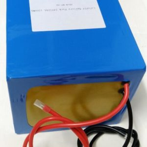 24V 50Ah LiFePO4 battery 1200Wh