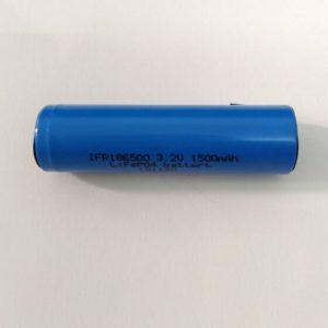 18650 3.2V 1500mAh LiFePO4 cell
